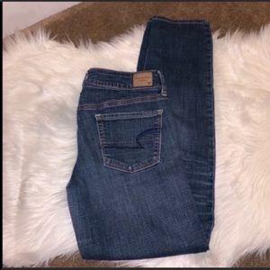 AEO American Eagle Skinny Super Stretch Jeans 6